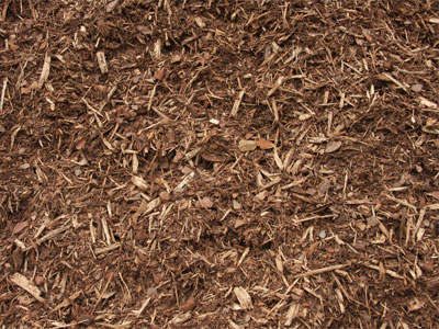 All Natural Wood Chip Mulch